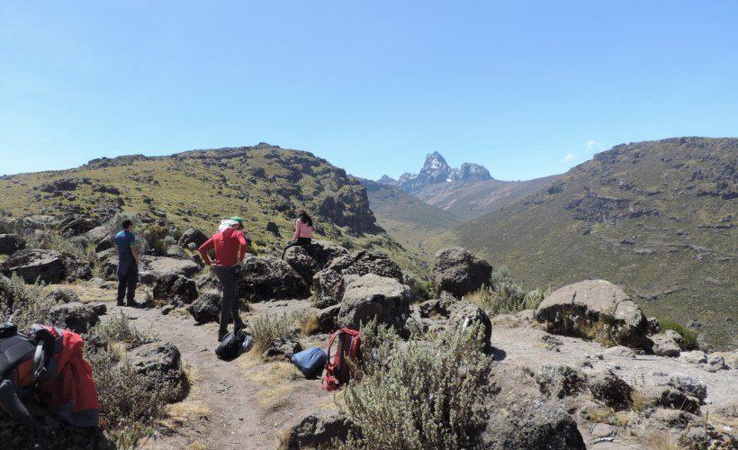 Mt Kenya Climbing Sirimon